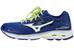 Mizuno Wave Inspire 12 Running Shoes Men blue depth/white/safety yellow